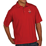 Antigua Men's Georgia Bulldogs Red 2018 College Football Playoff National Championship Bound Pique Performance Polo