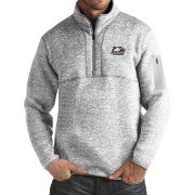 Antigua Men's Georgia Southern Eagles Grey Fortune Pullover Jacket