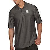 Antigua Men's Georgetown Hoyas Grey Illusion Polo