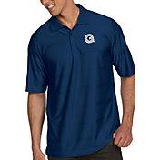 Antigua Men's Georgetown Hoyas Blue Illusion Polo