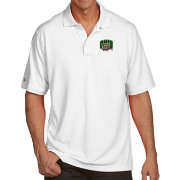Antigua Men's Ohio Bobcats White Pique Xtra-Lite Polo