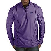 Antigua Men's Kansas State Wildcats Purple Tempo Half-Zip Pullover
