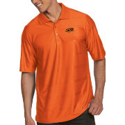 Antigua Men's Oklahoma State Cowboys Orange Illusion Polo