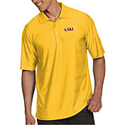 Antigua Men's LSU Tigers Gold Illusion Polo