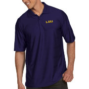Antigua Men's LSU Tigers Purple Illusion Polo