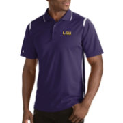 Antigua Men's LSU Tigers Merit Xtra-Lite White Polo