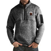 Antigua Men's Montana Grizzlies Black Fortune Pullover Jacket