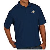 Antigua Men's Montana State Bobcats Blue Pique Xtra-Lite Polo