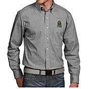 Antigua Men's Marshall Thundering Herd Green Associate Button Down Long Sleeve Shirt