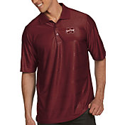 Antigua Men's Mississippi State Bulldogs Maroon Illusion Polo