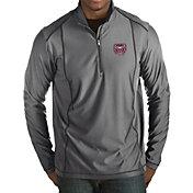 Antigua Men's Missouri State Bears Grey Tempo Half-Zip Pullover