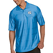 Antigua Men's North Carolina Tar Heels Carolina Blue Illusion Polo