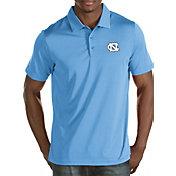 Antigua Men's North Carolina Tar Heels Carolina Blue Quest Polo