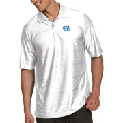 Antigua Men's North Carolina Tar Heels White Illusion Polo