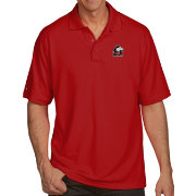 Antigua Men's Northern Illinois Huskies Cardinal Pique Xtra-Lite Polo