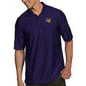Antigua Men's Northern Iowa Panthers  Purple Illusion Polo