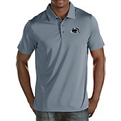 Antigua Men's Penn State Nittany Lions Grey Quest Polo