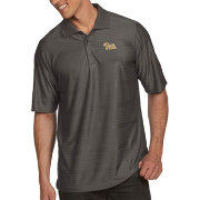 Antigua Men's Pitt Panthers Grey Illusion Polo