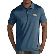 Antigua Men's Pitt Panthers Blue Quest Polo