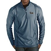 Antigua Men's Pitt Panthers Blue Tempo Half-Zip Pullover