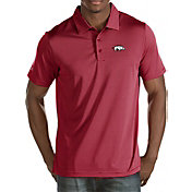 Antigua Men's Arkansas Razorbacks Cardinal Quest Polo