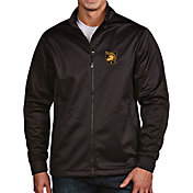 Antigua Men's Army West Point Black Knights Army Black Full-Zip Golf Jacket