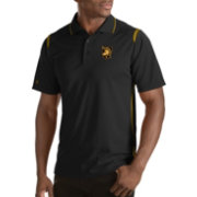 Antigua Men's Army West Point Black Knights Merit Xtra-Lite Army Black Polo