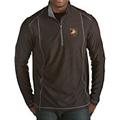 Antigua Men's Army West Point Black Knights Army Black Tempo Half-Zip Pullover