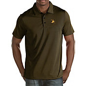 Antigua Men's Army West Point Black Knights USMA Gold Quest Polo