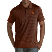 Antigua Men's Oregon State Beavers Black Quest Polo