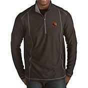 Antigua Men's Oregon State Beavers Black Tempo Half-Zip Pullover