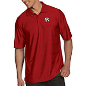 Antigua Men's Rutgers Scarlet Knights Scarlet Illusion Polo