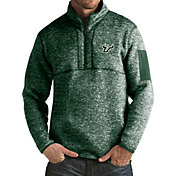 Antigua Men's South Florida Bulls Green Fortune Pullover Jacket