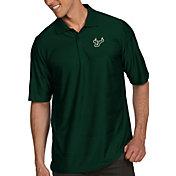 Antigua Men's South Florida Bulls Green Illusion Polo
