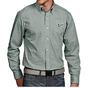 Antigua Men's South Florida Bulls Green Associate Button Down Long Sleeve Shirt