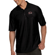 Antigua Men's Southern Illinois  Salukis Black Illusion Polo