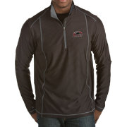 Antigua Men's Southern Illinois  Salukis Black Tempo Half-Zip Pullover