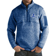 Antigua Men's Seton Hall Seton Hall Pirates Blue Fortune Pullover Jacket