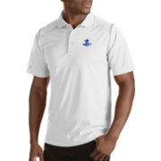Antigua Men's Seton Hall Seton Hall Pirates Merit Xtra-Lite White Polo