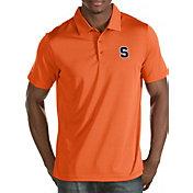 Antigua Men's Syracuse Orange Orange Quest Polo