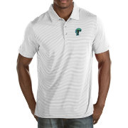 Antigua Men's Tulane Green Wave White Quest Polo