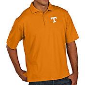 Antigua Men's Tennessee Volunteers Tennessee Orange Pique Xtra-Lite Polo