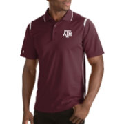 Antigua Men's Texas A&M Aggies Merit Xtra-Lite White Polo