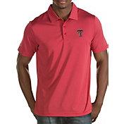 Antigua Men's Texas Tech Red Raiders Red Quest Polo