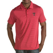 Antigua Men's Texas Tech Red Raiders Red Quest Polo