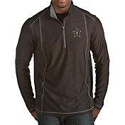 Antigua Men's Vanderbilt Commodores Black Tempo Half-Zip Pullover
