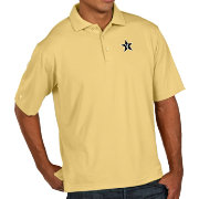 Antigua Men's Vanderbilt Commodores Gold Pique Xtra-Lite Polo