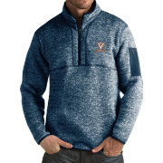 Antigua Men's Virginia Cavaliers Blue Fortune Pullover Jacket