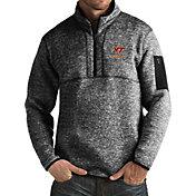 Antigua Men's Virginia Tech Hokies Black Fortune Pullover Jacket