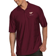 Antigua Men's Virginia Tech Hokies Maroon Illusion Polo
